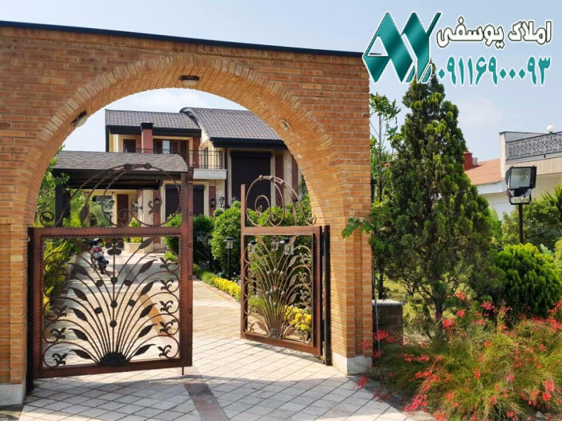 ویلا پلاک اول دریا – ویلا لوکس در خانه دریا – ویلا در محمودآباد